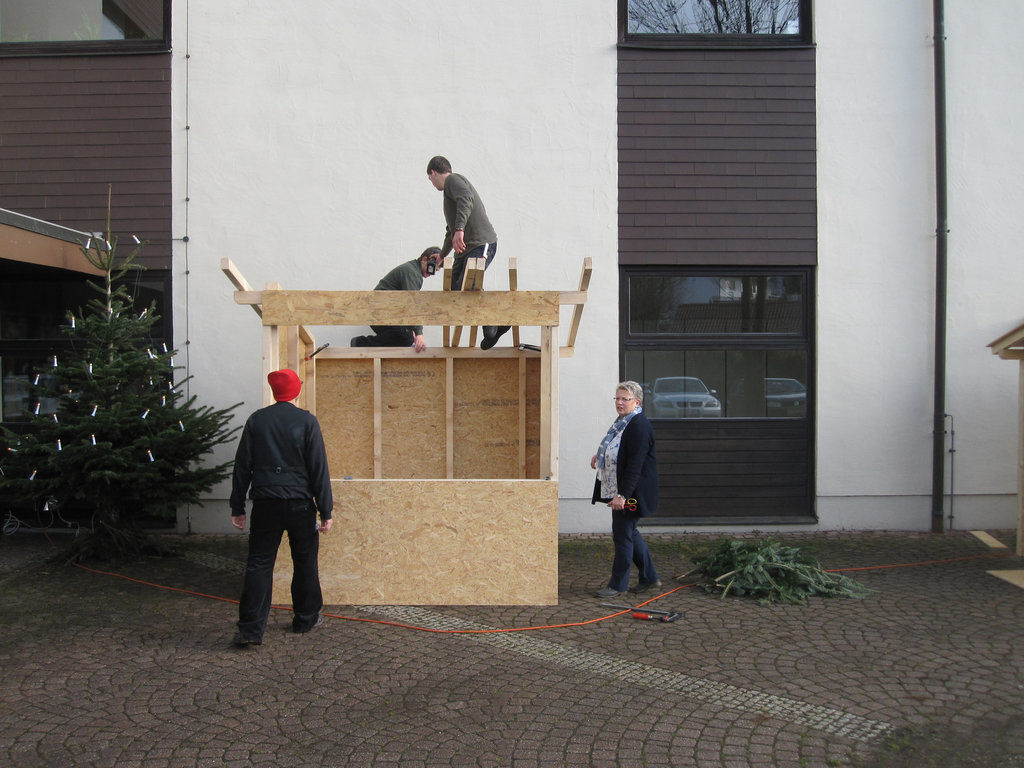 die weihnachtsfeier kann kommen. Black Bedroom Furniture Sets. Home Design Ideas
